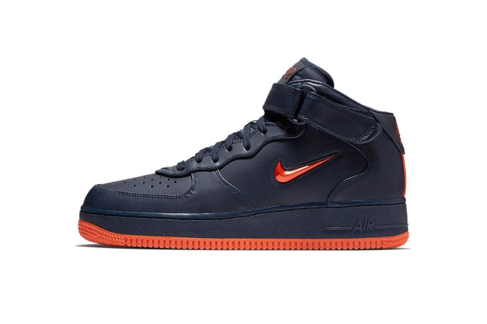 Nike 'NYC' Air Force 1 Trio [SneakPeak] nike air force 1 nyc obsidian brilliant orange 3