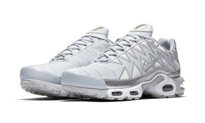 Nike Air Max Plus 'Metallic Silver Zig-Zag' [SneakPeak] nike air max plus zig zag metallic silver first look 02