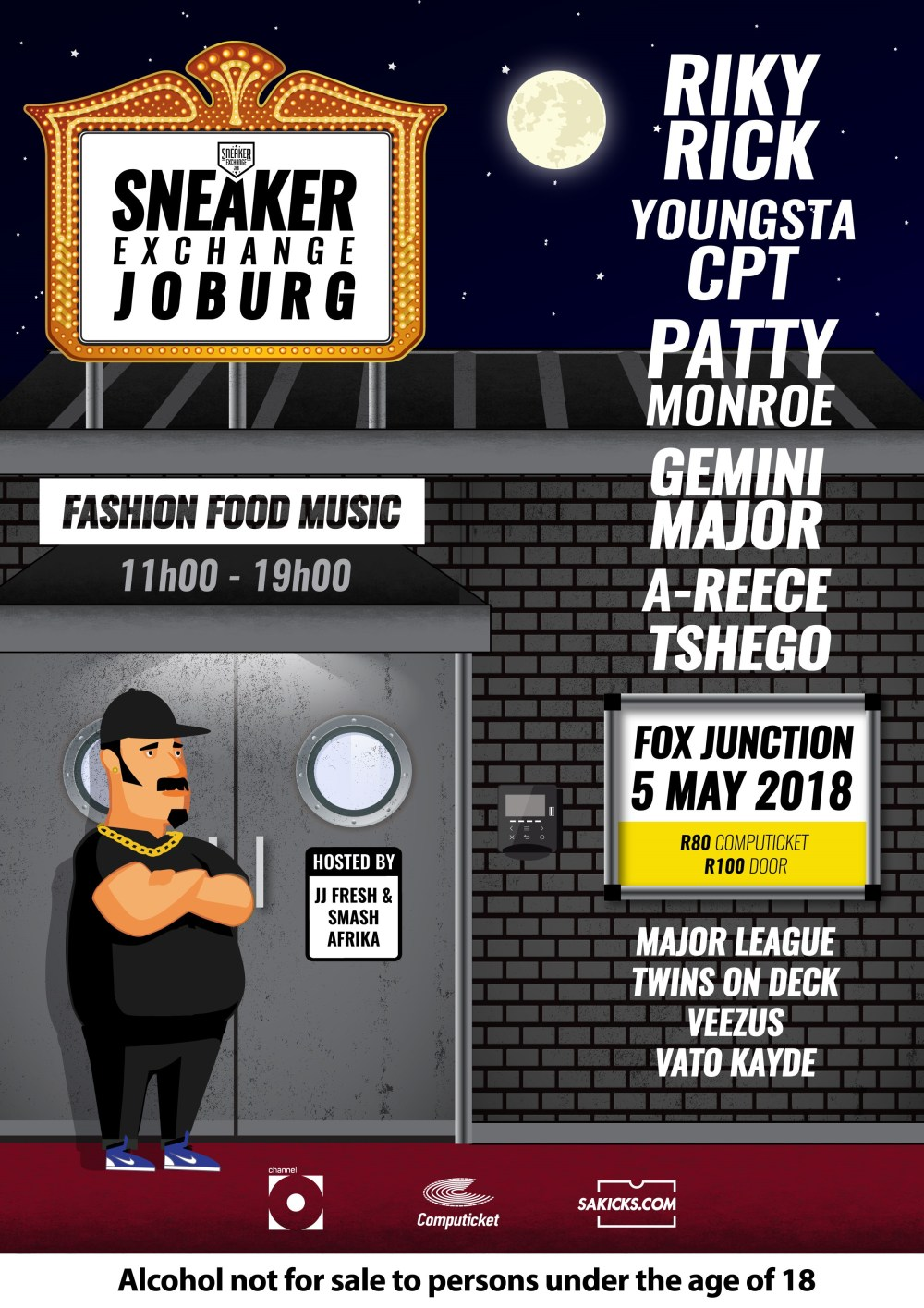 HYPE Magazine Interviews Zaid Osman For #SXCJHB Sneaker Exchange Johannesburg 5 May 2018