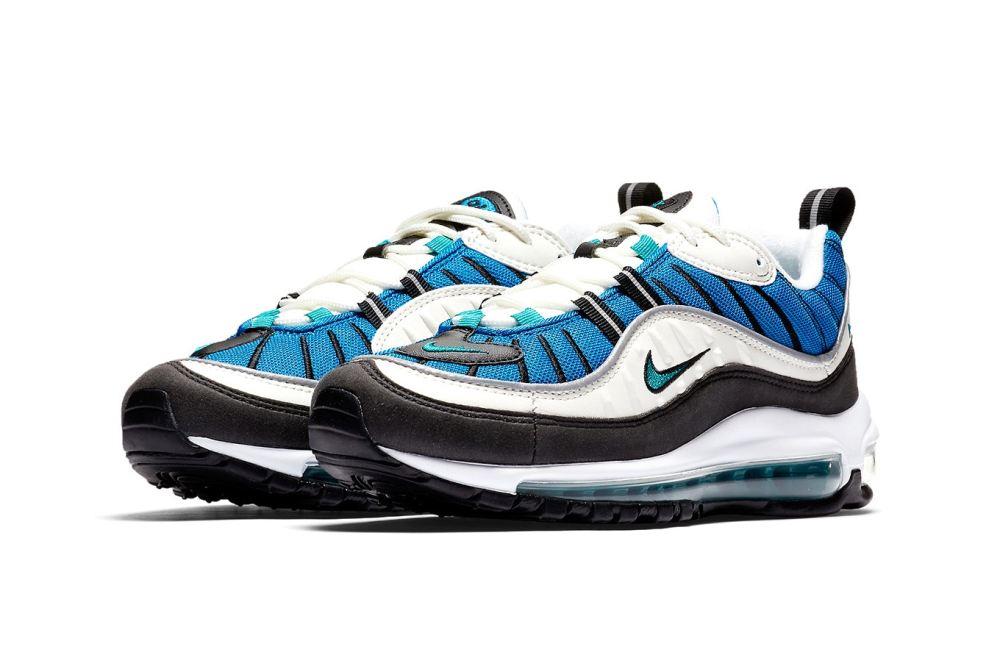 nike air max 98 Nike Air Max 98 'Blue Nebula' nike air max 98 blue nebula release date 2