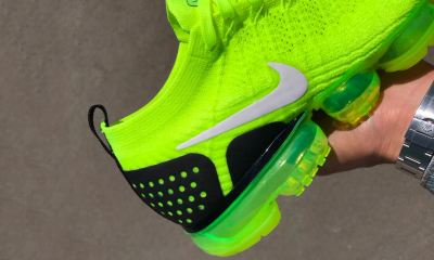 Nike's Air VaporMax 2 Flyknit 'Volt' Teased nike air vapormax flyknit 2 volt first look 4