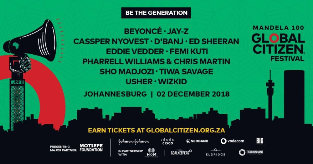 global citizen festival You Can Now Start Earning Points To The Global Citizen Festival DlGkUKTWsAAUIkA