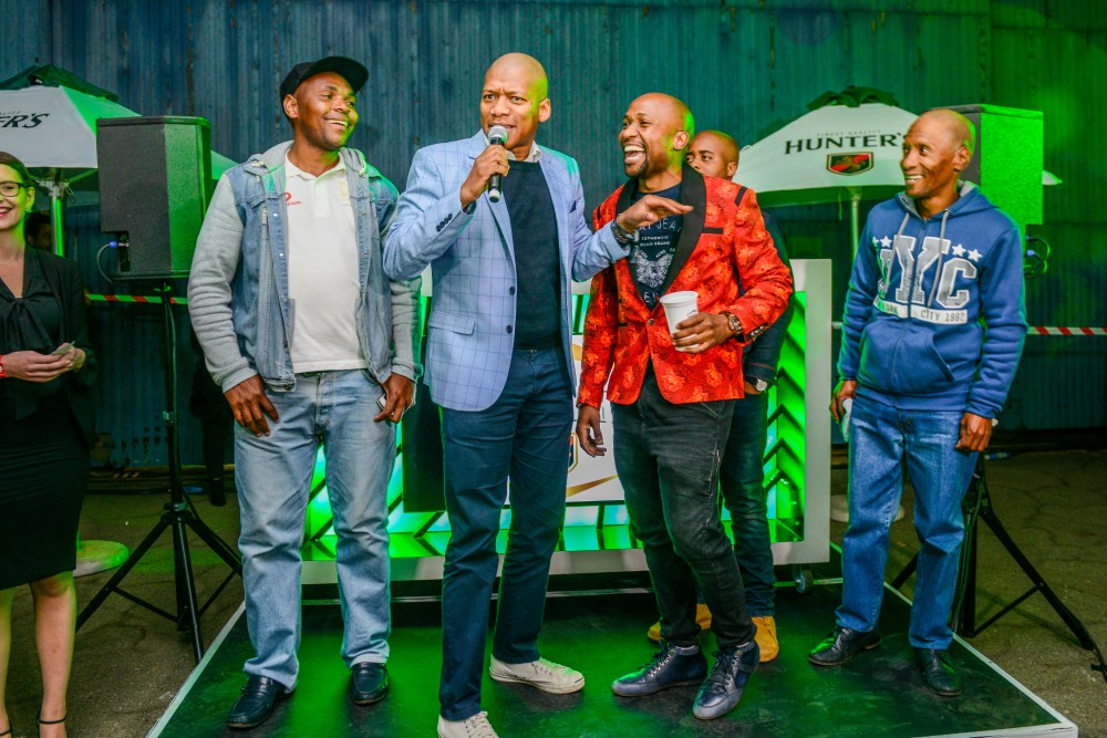 black coffee Hunter's Hosted An Unforgettable Party With Black Coffee! HUNTJHB HR 5602