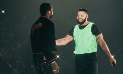 drake Watch Drake Bring Out Meek Mill On Stage To Officially Squash Their Beef drake meek thesource
