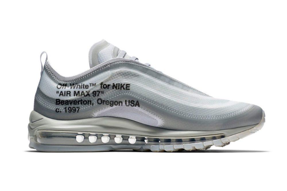 "New Off-White™ x Nike Air Max 97 ""Menta"" Sneaks https hypebeast"