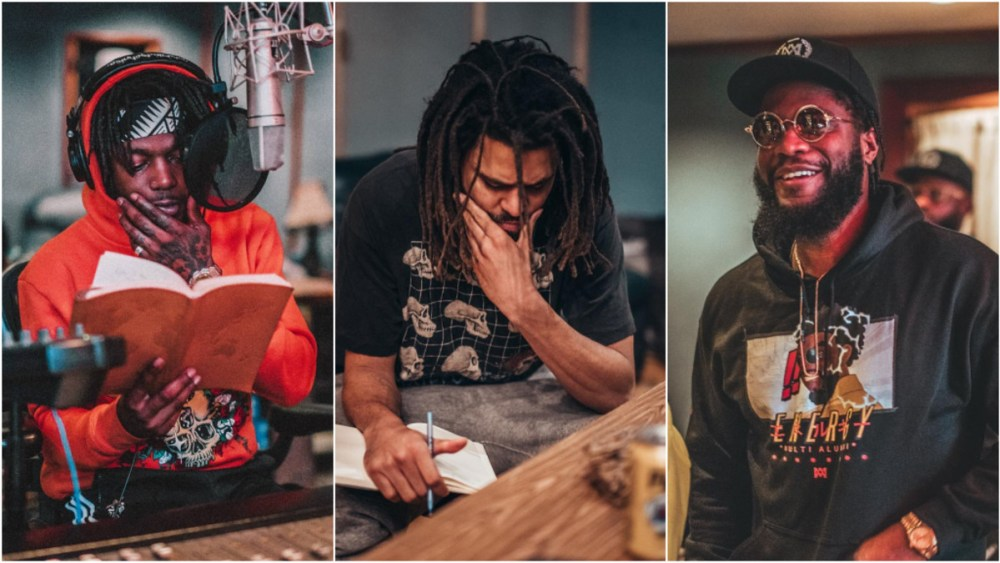 j. cole J. Cole Shed Tears Writing Verse During #ROTD3 Session dreamville camp day three yoh