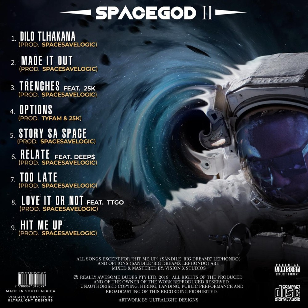 Listen To Space Save Logic's New 'SPACEGOD2' Project