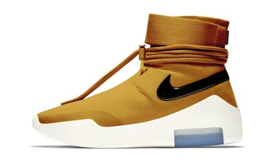 nike air fear New Nike Air Fear of God Shoot Around 'Wheat Gold' Colorway Teased fear