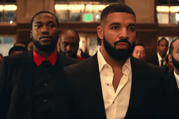 meek mill Watch Meek Mill's New 'Going Bad' Video Ft. Drake meek mill thatgrapejuice drake going bad video 600x392