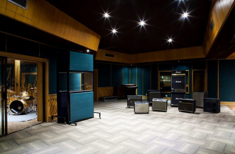 Downtown Studios Celebrates 40 Years Of Contributing To The Music Industry Studio 1 Tracking Area 1024x672