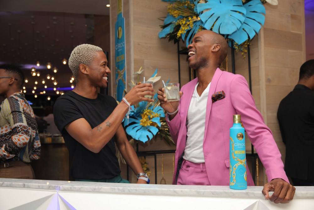 How CÎROC Launched Their Latest Collab With Moschino Via A Luxury Pop-Up Experience Sylvester Falata Nhlanhla Mchunu 1024x683