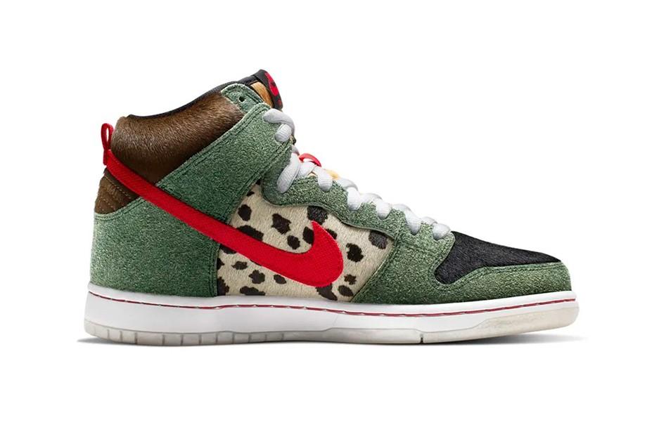 New Nike SB 'Walk The Dog' Dunk Highs https   hypebeast