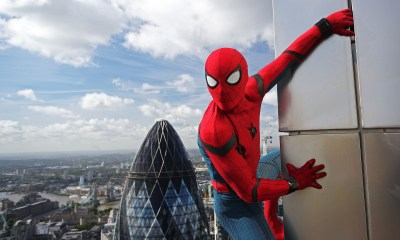 New 'Spider-Man: Far From Home' Trailer Introduces The Marvel Multiverse [Watch] spider man homecoming stunt double chris silcox scaled some of londons tallest buildings for a p