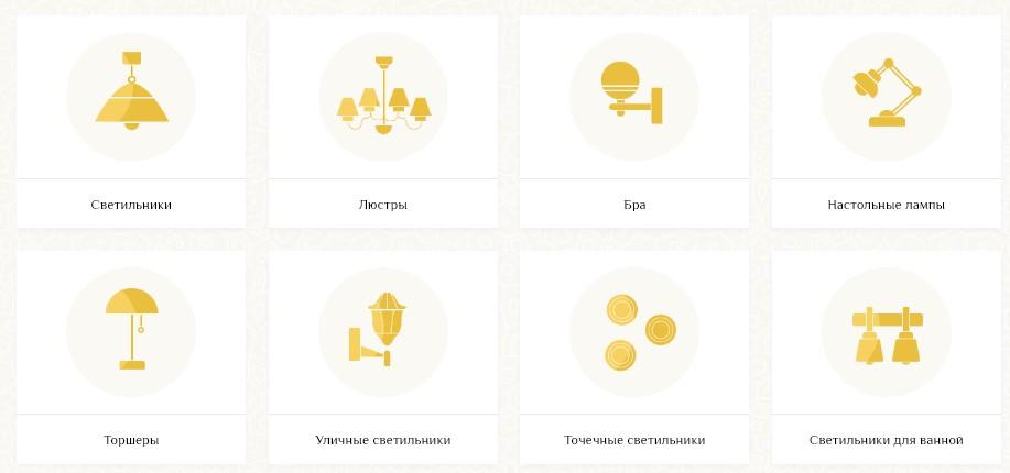 Интернет-магазин светильников и люстр Svetilnikof