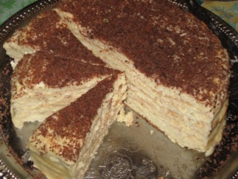 сырный торт на сковороде