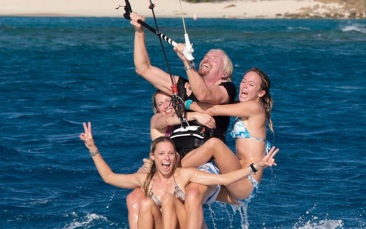 Richard Branson on Being Comfortable with Nudity, the