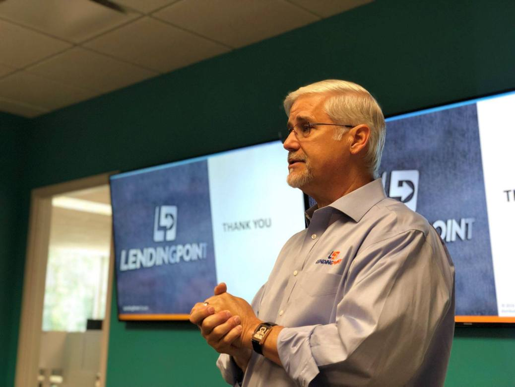 Tom Burnside LendingPoint speaking