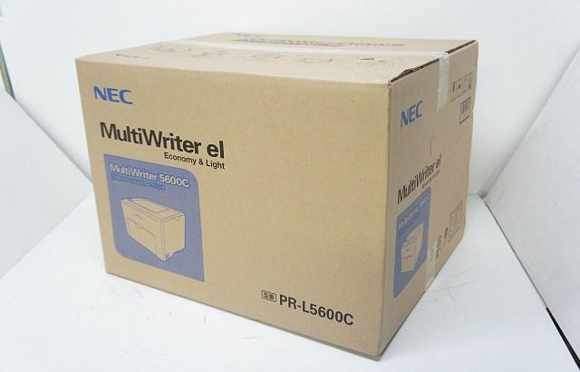 NEC マルチライタ 5600C (PR-L5600C) レビュー その1