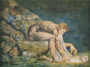 """William Blake, """"Newton"""" (1795)"""