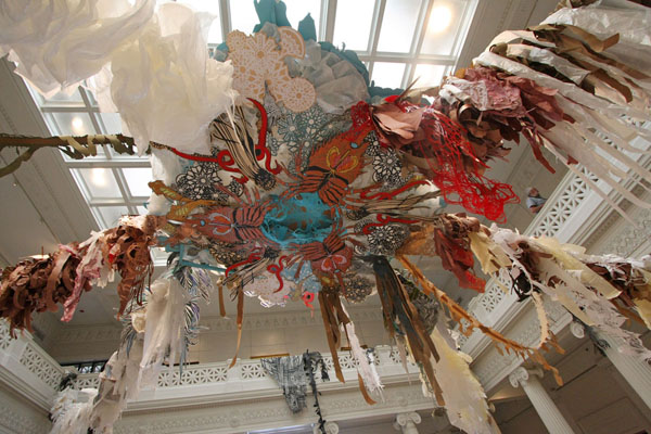 Swoon's Thalassa in NOMA's Great Hall