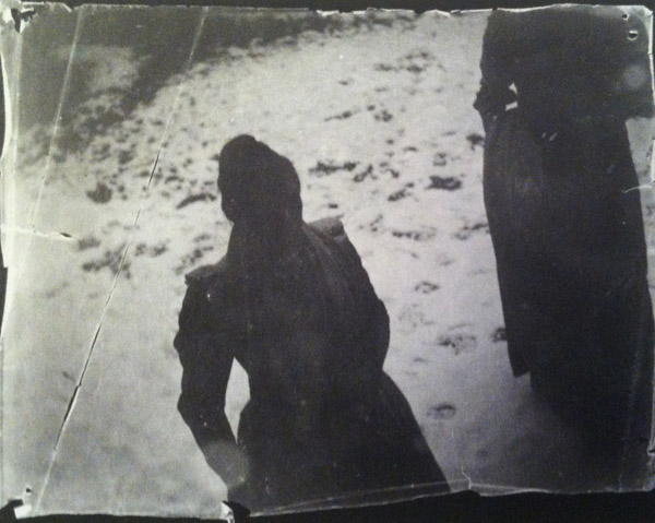 "George Hendrik Breitner, ""Two girls in a snowy garden"""