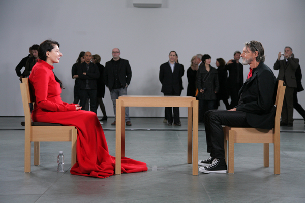 """Ulay with Marina, from """"The Artist is Present"""""""