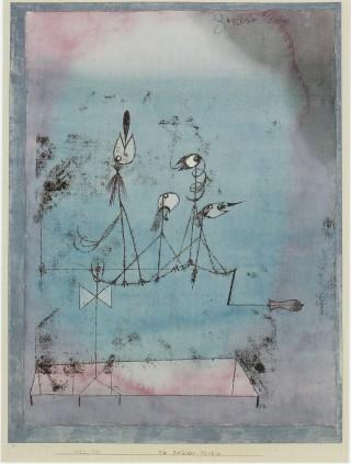 Twittering Machine, Paul Klee, 1922, image from SFMOMA Tumblr