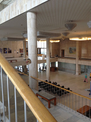 Inside the Tretyakov Gallery