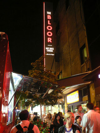 The newest TIFF venue, the Bloor Hot Docs Cinema