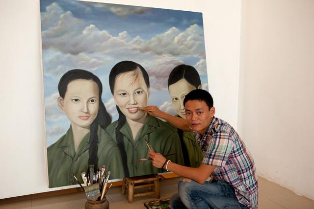 Painter Anh Hoang