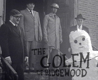 "Matt Freedman, ""The Golem of Ridgewood,"" publicity still (2012) (image via valentinegallery.blogspot.com) (click to enlarge)"