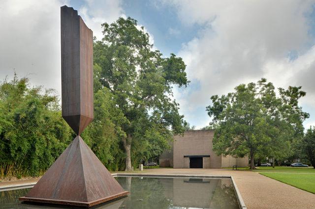 """Barnett Newman's """"Broken Obelisk"""" (Image via wikipedia.org)"""