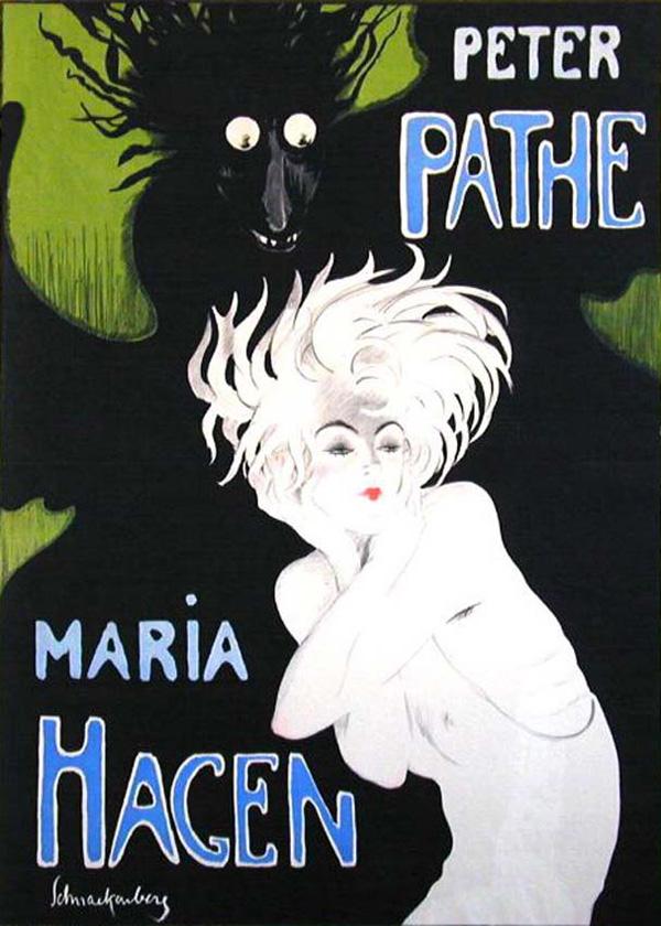 """Walter Schnackenberg, """"Peter Pathe - Maria Hagen"""""""