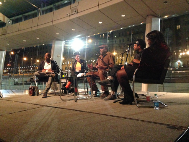 The panel at the Brooklyn Museum (photo by the author for Hyperallergic)