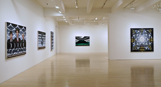 Roger Brown, Installation shot (Courtesy of DC Moore Gallery, New York.)