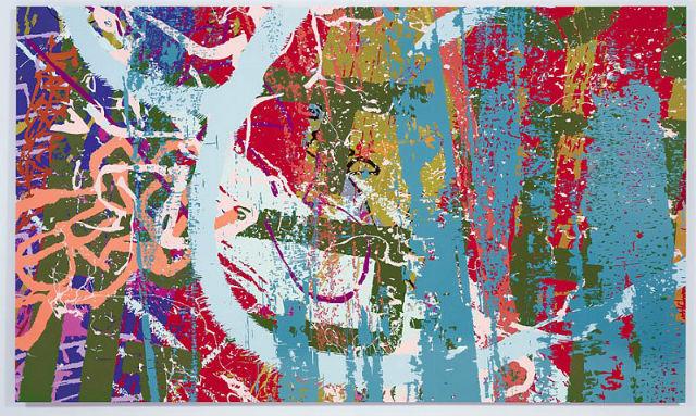 "Ingrid Calame's ""#258 Drawing"" (2007) (Image via James Cohan)"