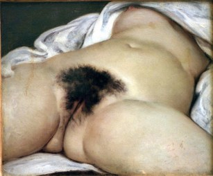 "Gustave Courbet, ""The Origin of the World"" (1886) (Image via wikipedia.org)"