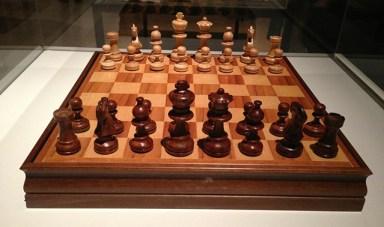 Stanley Kubrick's chess set