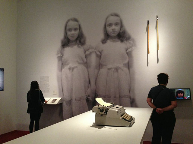 """The Shining"" installation at LACMA"