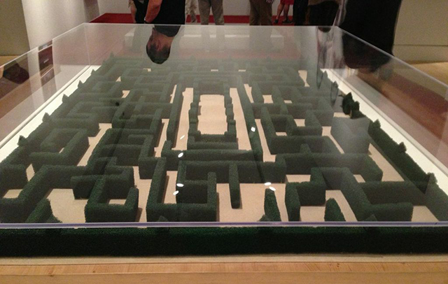 """Model of the maze from """"The Shining"""""""