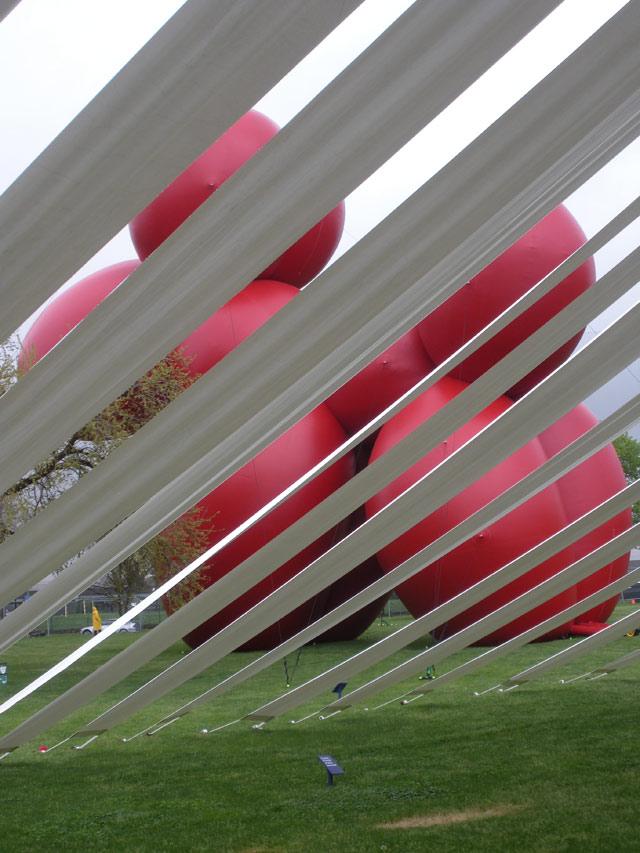 Paul McCarthy's ginormous balloon dog