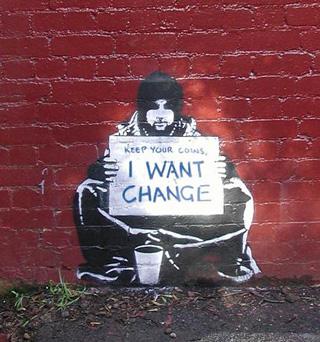 Street art in Melbourne (via twistedsifter.com)