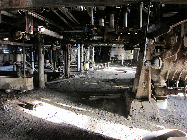 Inside the Domino Sugar Factory