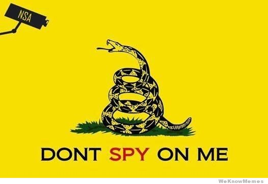 """Based on the classic """"Don't Tread on Me"""" flag from (via weknowmemes.com)"""