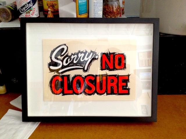 "Archie Scott Gobber, ""No Closure"""