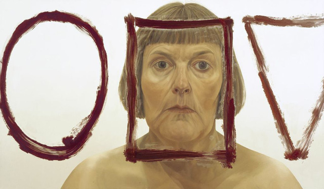"""Catherine Murphy, """"Face Shapes"""" (2002)"""