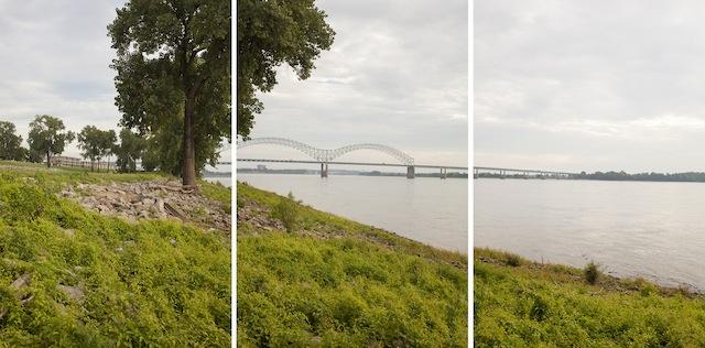 The Mississippi River. Memphis, TN.