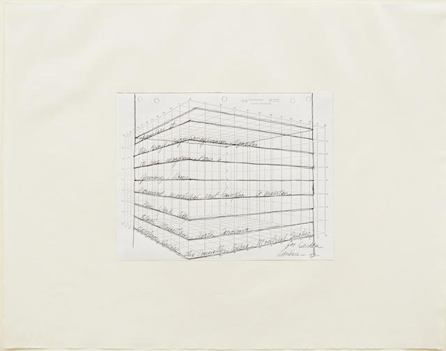 VAR-1 From Memory- Rockburne Dorothea