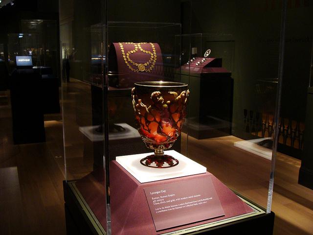 Resultado de imagen de lycurgus cup british museum