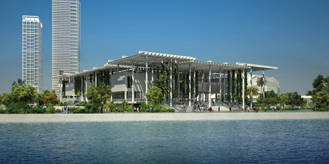 Design by Herzog & de Meuron of the Pérez Art Museum Miami (via PAMM)